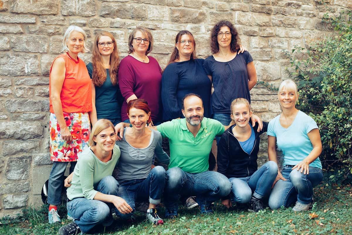 Team - Therapiezentrum Katharinenvorstadt - Schwäbisch Hall - Physiotherapie - Heilpraktiker - Selbstzahler